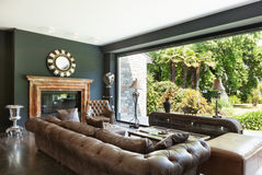 Sala de visitas bonita Foto de Stock Royalty Free