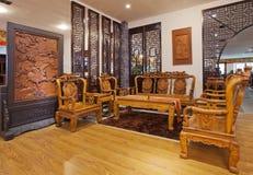 Sala de visitas chinesa 01 Fotografia de Stock Royalty Free