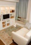 Sala de visitas chique e elegante imagens de stock royalty free