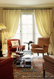 Sala de visitas clássica Fotos de Stock Royalty Free