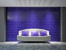 Sala de visitas com sofá Imagem de Stock