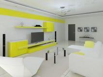 Sala de visitas confortável Ilustração Stock
