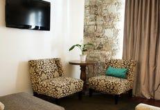 Sala de visitas Cosy fotos de stock royalty free