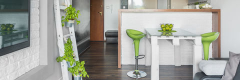 Sala de visitas criativa Foto de Stock