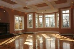 Sala de visitas da construção nova Imagem de Stock