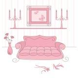 Sala de visitas da princesa Imagem de Stock Royalty Free