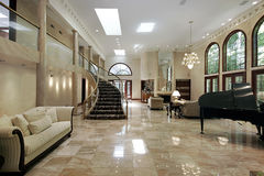 Sala de visitas de mármore Fotografia de Stock