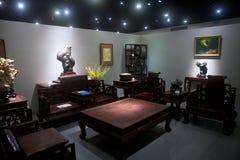 Sala de visitas do estilo chinês Imagens de Stock