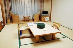 Sala de visitas do estilo japonês imagens de stock