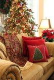 Sala de visitas do Natal Fotos de Stock