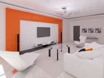 Sala de visitas extravagante Ilustração do Vetor