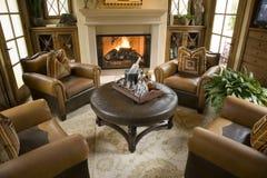 Sala de visitas home luxuosa. foto de stock