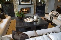 Sala de visitas home luxuosa. Imagem de Stock Royalty Free