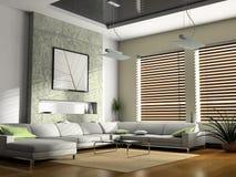 Sala de visitas interior imagens de stock royalty free