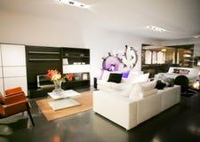 Sala de visitas interior fotografia de stock royalty free
