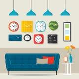 Sala de visitas interior Imagem de Stock