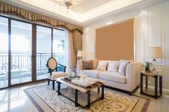 Sala de visitas luxuosa Foto de Stock Royalty Free