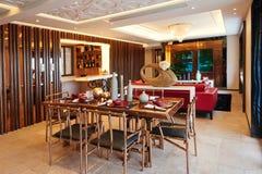 Sala de visitas luxuosa moderna fotos de stock