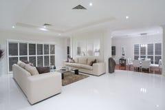 Sala de visitas luxuoso Fotos de Stock Royalty Free