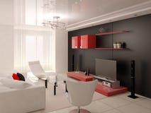 Sala de visitas minimalista Ilustração Stock