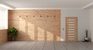 Sala de visitas minimalista vazia Fotos de Stock