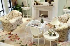 Sala de visitas moderna Fotografia de Stock Royalty Free
