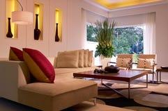 Sala de visitas moderna Foto de Stock Royalty Free