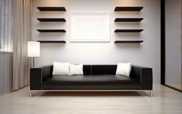 Sala de visitas moderna Imagens de Stock
