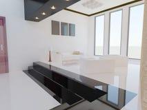 Sala de visitas moderna. Imagem de Stock Royalty Free
