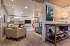 Sala de visitas moderna Fotos de Stock Royalty Free