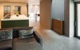 Sala de visitas moderna Imagem de Stock
