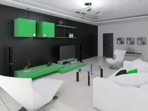 Sala de visitas moderna Ilustração do Vetor