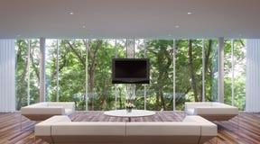 Sala de visitas moderna do estilo Ilustração Royalty Free