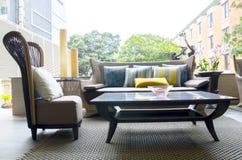 Sala de visitas moderna exterior Imagem de Stock Royalty Free