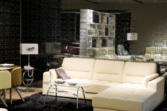 Sala de visitas moderna luxuosa Foto de Stock Royalty Free