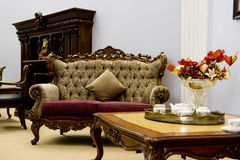 Sala de visitas moderna luxuosa Fotografia de Stock