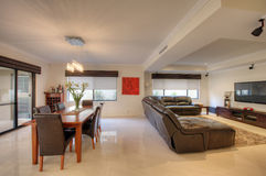 Sala de visitas na HOME luxuosa Imagem de Stock