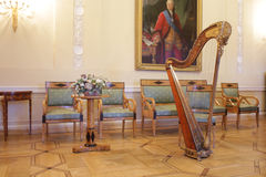 Sala de visitas no palácio de Sheremetyev Fotos de Stock