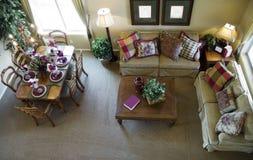 Sala de visitas que olha para baixo Foto de Stock Royalty Free