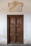 A sala de Washington Irving no Alhambra fotos de stock