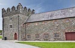 Sala del castillo Foto de archivo libre de regalías