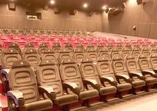 Sala del cinematografo Immagine Stock