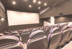 Sala del cinematografo Fotografie Stock Libere da Diritti