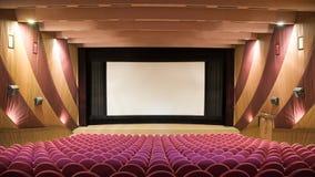 Sala del cinematografo Fotografia Stock