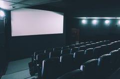 Sala del cinematografo rappresentazione 3d Immagine Stock Libera da Diritti