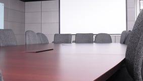 Sala del consiglio. Immagine Stock Libera da Diritti