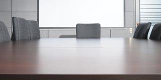 Sala del consiglio. Immagine Stock