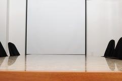 Sala del consiglio. Fotografie Stock