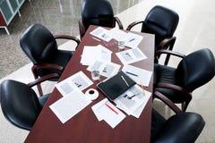 Sala del consiglio Immagini Stock