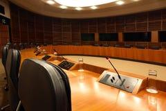 Sala del consiglio Immagini Stock Libere da Diritti